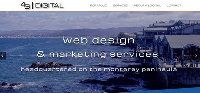 43 designs digital home page