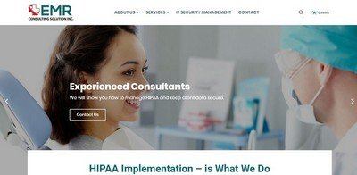 emr consulting home page