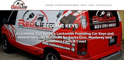 redline keys home page