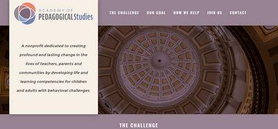 APS web home page
